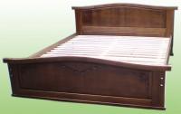 Кровать двуспальная из массива