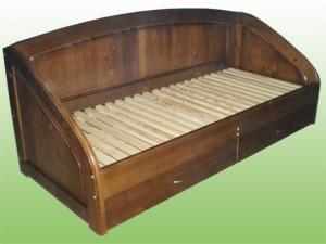 Подростковая кровать с ящиками для белья