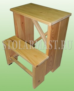 Лестница-подставка для продавца
