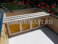 Деревянные мини рамки для сотового мёда
