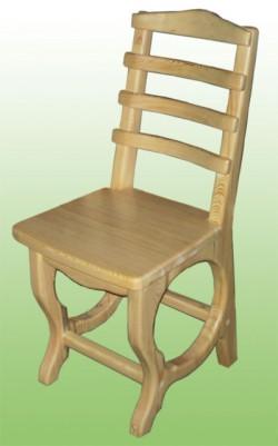 """Стул деревянный со спинкой """"Мишкин стул"""""""