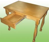 Кухонный стол с ящиком из массива сосны