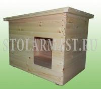 Деревянные будки для собак на заказ