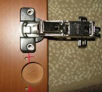 Как отремонтировать разболтанные отверстия петель в корпусной мебели?