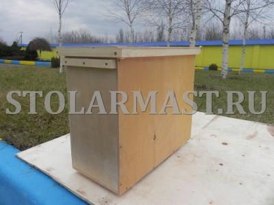 Ящик для сотовых пчелопакетов на 4 рамки для перевозки пчёл