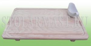 Поднос деревянный порционный для ресторанов и кафе