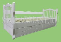 """Подростковая кровать с выдвижными ящиками на заказ. """"Красотка"""""""