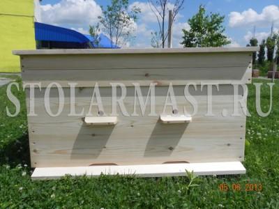 Деревянный улей-лежак на 24 рамки